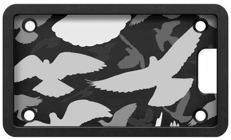 PLATEPULLER Engraved Birds